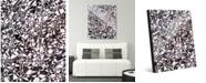 "Creative Gallery Cluster Slate Abstract 16"" x 20"" Acrylic Wall Art Print"