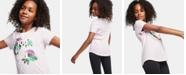 Nike Big Girls You Glow Girls Graphic Cotton T-Shirt
