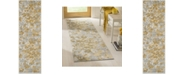 "Safavieh Evoke Grey and Gold 2'2"" x 7' Runner Area Rug"