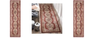 "Safavieh Bijar Red and Rust 2'3"" x 8' Runner Area Rug"