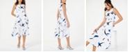 Alfani Printed A-Line Midi Dress, Created for Macy's