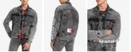Tommy Hilfiger Men's Acid Washed Denim Jacket, Created for Macy's