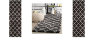"Safavieh Indie Dark Grey and Grey 2'3"" x 7' Runner Area Rug"