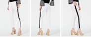 Michael Kors Petite Striped Ankle Pants