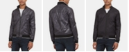 Kenneth Cole Men's Reversible Bomber Jacket