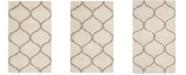 Safavieh Hudson Ivory and Beige 3' x 5' Area Rug