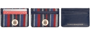 Tommy Hilfiger Woven TH Card Case