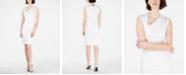 Calvin Klein Asymmetrical Cutout Sheath Dress