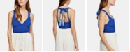 Free People Tie-Back Halter Top