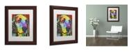 """Trademark Global Dean Russo 'Waffles' Matted Framed Art - 14"""" x 11"""" x 0.5"""""""