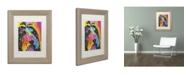 "Trademark Global Dean Russo 'Prissy' Matted Framed Art - 14"" x 11"" x 0.5"""