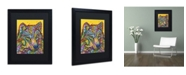 """Trademark Global Dean Russo 'Wolf 2' Matted Framed Art - 16"""" x 20"""" x 0.5"""""""