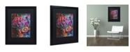 """Trademark Global Dean Russo '18' Matted Framed Art - 16"""" x 20"""" x 0.5"""""""