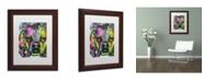 """Trademark Global Dean Russo '23' Matted Framed Art - 14"""" x 11"""" x 0.5"""""""