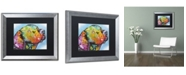 """Trademark Global Dean Russo '24' Matted Framed Art - 20"""" x 16"""" x 0.5"""""""
