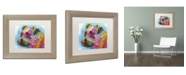 """Trademark Global Dean Russo '26' Matted Framed Art - 14"""" x 11"""" x 0.5"""""""