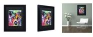 """Trademark Global Dean Russo 'Flipped' Matted Framed Art - 11"""" x 14"""" x 0.5"""""""