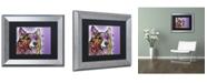 """Trademark Global Dean Russo 'Corgi' Matted Framed Art - 14"""" x 11"""" x 0.5"""""""