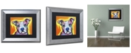 "Trademark Global Dean Russo 'A Serious Pit' Matted Framed Art - 14"" x 11"" x 0.5"""