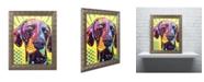 "Trademark Global Dean Russo 'German Short Hair Pointer' Ornate Framed Art - 14"" x 11"" x 0.5"""