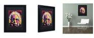 "Trademark Global Dean Russo 'Einstein II' Matted Framed Art - 11"" x 14"" x 0.5"""