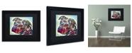 """Trademark Global Dean Russo 'Bulls Eye' Matted Framed Art - 11"""" x 14"""" x 0.5"""""""
