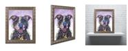 "Trademark Global Dean Russo 'Love Not a Fighter' Ornate Framed Art - 14"" x 11"" x 0.5"""