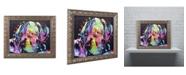 "Trademark Global Dean Russo 'Young Mastiff' Ornate Framed Art - 14"" x 11"" x 0.5"""