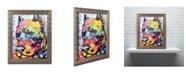 "Trademark Global Dean Russo 'Smokey' Ornate Framed Art - 14"" x 11"" x 0.5"""
