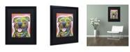 "Trademark Global Dean Russo 'Blanche' Matted Framed Art - 16"" x 20"" x 0.5"""