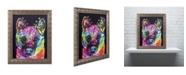 "Trademark Global Dean Russo 'Akita II' Ornate Framed Art - 14"" x 11"" x 0.5"""