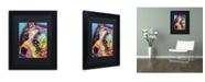 """Trademark Global Dean Russo 'Bella' Matted Framed Art - 11"""" x 14"""" x 0.5"""""""