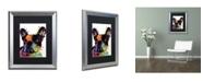 "Trademark Global Dean Russo 'French Bulldog' Matted Framed Art - 20"" x 16"" x 0.5"""