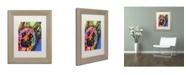 """Trademark Global Dean Russo 'Jackson' Matted Framed Art - 14"""" x 11"""" x 0.5"""""""