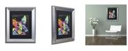 "Trademark Global Dean Russo 'Scottish Terrier' Matted Framed Art - 14"" x 11"" x 0.5"""