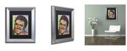 "Trademark Global Dean Russo 'Elvis' Matted Framed Art - 14"" x 11"" x 0.5"""