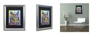 """Trademark Global Dean Russo 'Angora' Matted Framed Art - 20"""" x 16"""" x 0.5"""""""