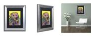 """Trademark Global Dean Russo 'Goose' Matted Framed Art - 14"""" x 11"""" x 0.5"""""""