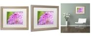 "Trademark Global Cora Niele 'Cerise Pink Dahlia' Matted Framed Art - 20"" x 16"" x 0.5"""