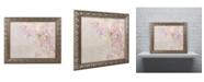 """Trademark Global Cora Niele 'Sweet Pea' Ornate Framed Art - 20"""" x 16"""" x 0.5"""""""