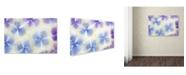 "Trademark Global Cora Niele 'Blue and White Hydrangea Flowers' Canvas Art - 24"" x 16"" x 2"""
