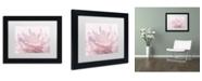 "Trademark Global Cora Niele 'Pink Peony Petals III' Matted Framed Art - 11"" x 14"" x 0.5"""