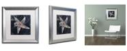 "Trademark Global Color Bakery 'Maritime Blues IV' Matted Framed Art - 16"" x 0.5"" x 16"""