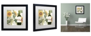 """Trademark Global Color Bakery 'Dolcetto V' Matted Framed Art - 16"""" x 16"""" x 0.5"""""""