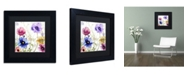 """Trademark Global Color Bakery 'Summer Diary II' Matted Framed Art - 11"""" x 11"""" x 0.5"""""""