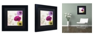 """Trademark Global Color Bakery 'Love Notes I' Matted Framed Art - 11"""" x 11"""" x 0.5"""""""