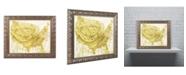 "Trademark Global Color Bakery 'American Dream III' Ornate Framed Art - 20"" x 0.5"" x 16"""