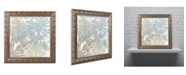 "Trademark Global Color Bakery 'Beach Curry II' Ornate Framed Art - 16"" x 0.5"" x 16"""
