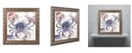 """Trademark Global Color Bakery 'Oceania II' Ornate Framed Art - 11"""" x 0.5"""" x 11"""""""
