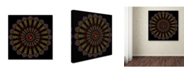 "Trademark Global Delyth Angharad 'Kaleidoscope Mandala' Canvas Art - 14"" x 14"" x 2"""